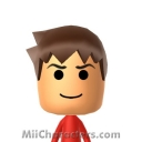 The Red Ninja Mii Image by tigrana