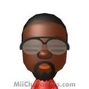 Kanye West Mii Image by Afro Jesus