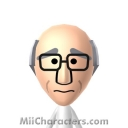 Larry David Mii Image by Juliusaurus