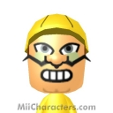 Wario Mii Image by ThomasMiis