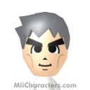 Professor Samuel Oak Mii Image by CancerTurtle