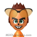 Crash Bandicoot Mii Image by Crashloxx