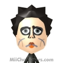 Edward Scissorhands Mii Image by BrainWolf