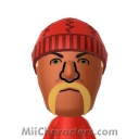 Hulk Hogan Mii Image by Techno Tater