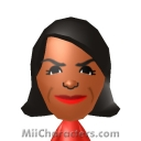 Michelle Obama Mii Image by Randy