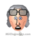 Dr. Emmett Brown Mii Image by Adam