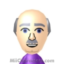 Dr. Phil McGraw Mii Image by blueandyellow