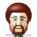 Bob Ross Mii Image by Zooter
