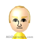 Goldfinger Mii Image by TeeOS