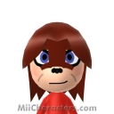Knuckles the Echidna Mii Image by Petertwnsnd