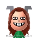 Barbara the Barbarian Mii Image by Retrotator