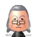 Benjamin Franklin Mii Image by Red Baron