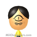 Bill Cipher Mii Image by Jahmocha