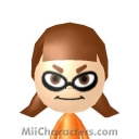 Orange Inkling Mii Image by aranelyn