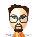 Gordon Freeman Mii Image by SAMU0L0