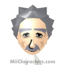 Albert Einstein Mii Image by Tocci