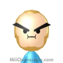 Grump Steam Train Mii Image by magikarpow