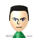 Chris Redfield Mii Image by Data Hawk