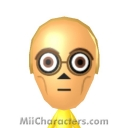 C-3PO Mii Image by Avery5733