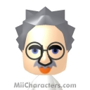 Albert Einstein Mii Image by Mryoshi64