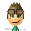 Manic the Hedgehog Mii Image by ChelseaHedgeho