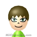 Vector the Crocodile Mii Image by ChelseaHedgeho
