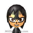 Dark Sonic the Hedgehog Mii Image by ChelseaHedgeho