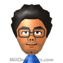 Maurice Moss Mii Image by quisui