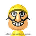 Wario Mii Image by Junks