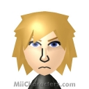 Cloud Strife Mii Image by Junks