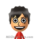 Monkey D. Luffy Mii Image by J1N2G