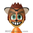 Crash Bandicoot Mii Image by Andrew S35