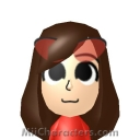 May Mii Image by Wii U