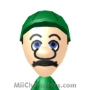 Luigi Mii Image by TeachyDome543
