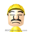 Wario Look-Alike Mii Image by ToBeMii