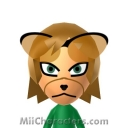 Fox McCloud Mii Image by FierceStar