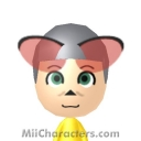 Ginger Mouse Mii Image by rhythmclock
