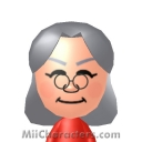Mrs. Claus Mii Image by battlbette