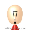 Exclamation Point Mii Image by PaperJam