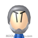White Bomberman Mii Image by PaperJam