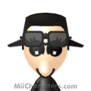 Black Spy Mii Image by Woodstock