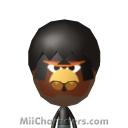 Black Angry Bird Mii Image by NuCreat