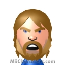 """Hacksaw"" Jim Duggan Mii Image by Daffy Duck"