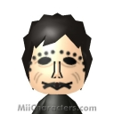 Leatherface Mii Image by Mr. Tip