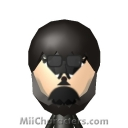 Black Spider-Man Mii Image by Mr. Tip