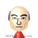 Captain Jean-Luc Picard Mii Image by UNCLE