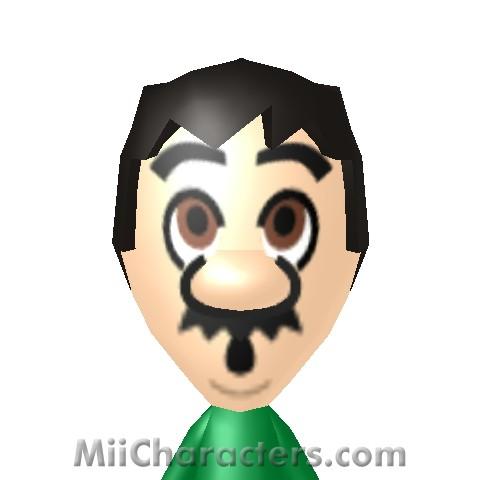 Miicharacters Com Miicharacters Com Mii Details For Luigi