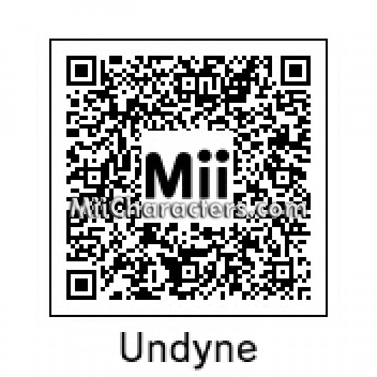 MiiCharacters com - MiiCharacters com - Mii Details for Undyne