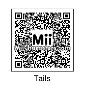 "QR Code for Miles ""Tails"" Prower by Toon and Anime"