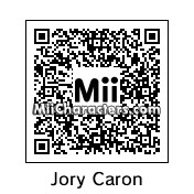 QR Code for Jory Caron by Tristan Groff